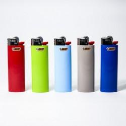 Feuerzeug Bic groß einfarbig x5