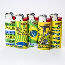 Briquet Bic mini brazil x5