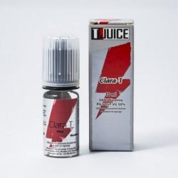 E-Liquid 10 ml Clara T T-Juice 0 mg/ml