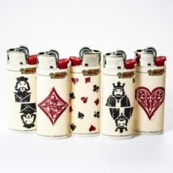 Feuerzeug Bic mini Cards x5