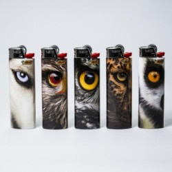 Feuerzeug Bic groß Eyes x5