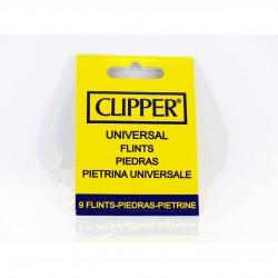 Blisterpackung mit 9 Zündsteinen für Clipper-Feuer