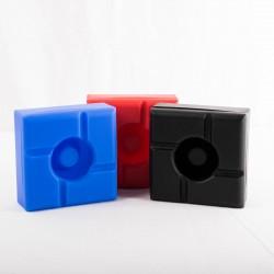 Cendrier silicone carré
