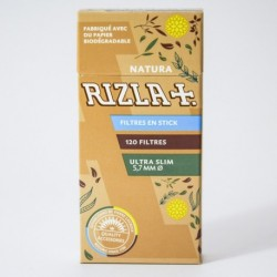 Packung 120 Filter Rizla+ Bio Stick