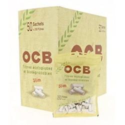 Beutel mit 150 Filtern OCB Bio x50