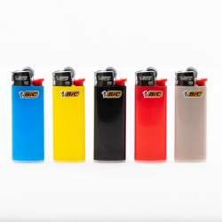 Feuerzeug Bic Mini einfarbig x5