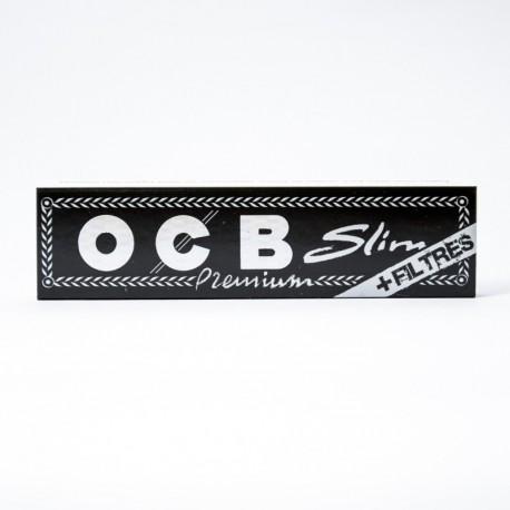 Zigarettenpapier OCB Slim + Filter