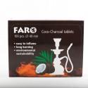Faro Natürliche Kokosnuss Holzkohlebox x100
