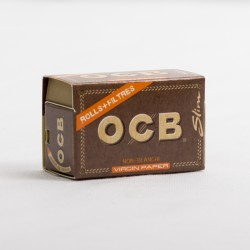 Ocb virgin rolling paper rolls + filters tips