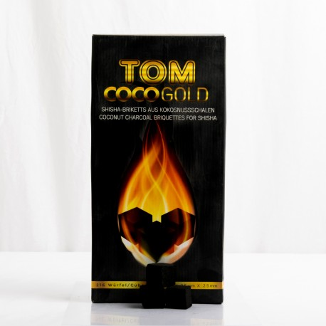 Coconut charcoal Tom Cococha gold 3kg