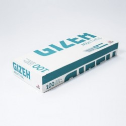 Packung mit 100 Hülsen Gizeh Silver Tip Menthol