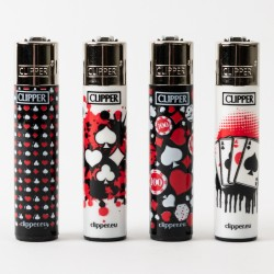 Games 21 Clipper Lighters x4