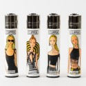Briquet Clipper grand Summer Girls x4