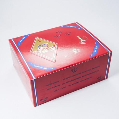 Packung Räucherkohle Three Kings x100