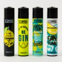 Briquet Clipper grand Gin Tonic x4