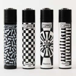 Table Games Clipper Lighters x4