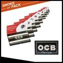 Pack 10 cahiers Ocb double premium FR