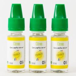 E-liquide Conceptarome Zitrone x3