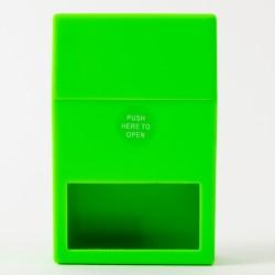Etui für eine Zigarettenschachtel mit Fenster