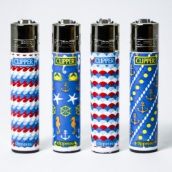Feuerzeug Clipper groß Pattern x4