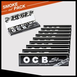 Ocb Slim Rolling Papers + Tips x10