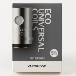 Box 5 Widerstände EUC Meshed 0,6 Ohm Vaporesso