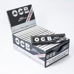 32 x Zigarettenpapier OCB Slim + Filter