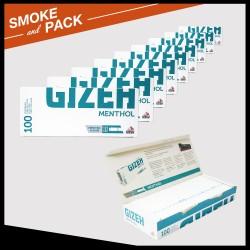 Gizeh Silver Tip Menthol Cigarette Filter Tubes