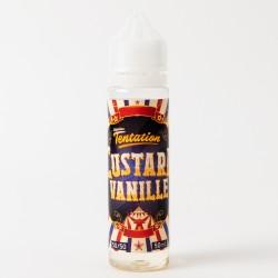 E liquide Liquidéo 50 ml Custard vanille 0 mg