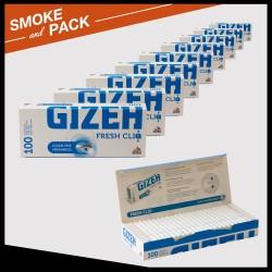 Boîte 100 tubes Gizeh fresh cliq