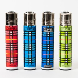 Table Print Clipper Lighters  x4