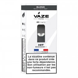 Lot 4 Pods Vaze blond 20 mg
