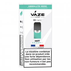 Lot 4 Pods Vaze Absolute zéro 20 mg