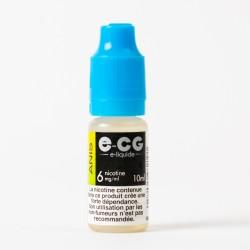E-liquide E-CG anis 10 ml