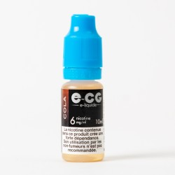 E-liquide E-CG cola 10 ml