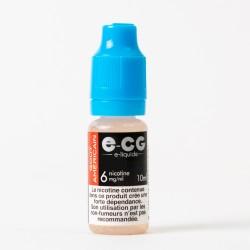 E-liquide E-CG goût américain 10 ml