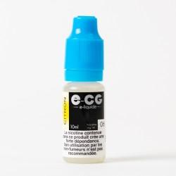 E-liquide E-CG citron 10 ml