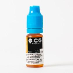 E-liquide E-CG caramel 10 ml