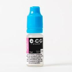 E-liquide E-CG Bubble-gum 10 ml