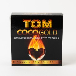 Coconut Charcoal Tom Cococha Gold x9