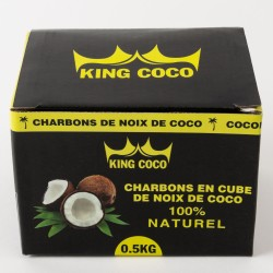 Charbon naturel King coco 500 g