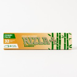 Rizla+ Bamboo Slim Rolling Papers + Tips