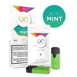 Lot de 2 pods BO sel de nicotine Icy Mint