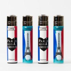 Clipper Paris Mon Amour Feuerzeug groß x4