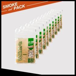 Pack 10 sachets 150 filtres Rizla+ Bamboo