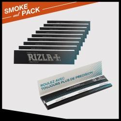 Pack 10 cahiers de papier à rouler Rizla+ précision Slim