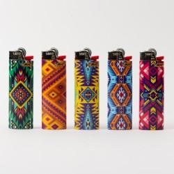 Feuerzeug Bic groß Aztec x5