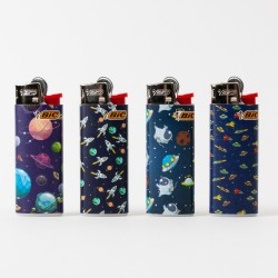 Feuerzeug Bic mini Galaxie x4