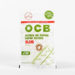 Sachet 150 filtres OCB Slim en papier